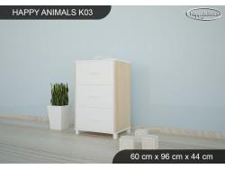 KOMODA HAPPY ANIMALS K03