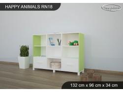 REGAŁ NISKI HAPPY ANIMALS RN18