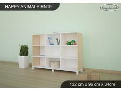 REGAŁ NISKI HAPPY ANIMALS RN19