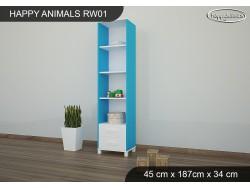 REGAŁ WYSOKI HAPPY ANIMALS RW01