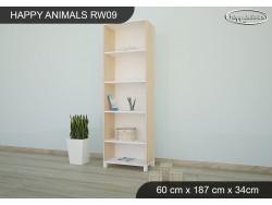 REGAŁ WYSOKI HAPPY ANIMALS RW09