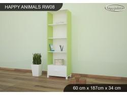 REGAŁ WYSOKI HAPPY ANIMALS RW08