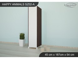 SZAFA HAPPY ANIMALS SZ02-A