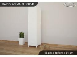 SZAFA HAPPY ANIMALS SZ03-B