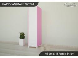 SZAFA HAPPY ANIMALS SZ03-A