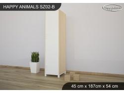 SZAFA HAPPY ANIMALS SZ02-B