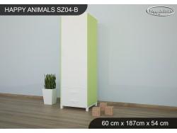 SZAFA HAPPY ANIMALS SZ04-B