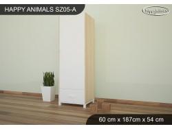 SZAFA HAPPY ANIMALS SZ05-A