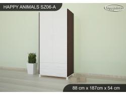SZAFA HAPPY ANIMALS SZ06-A