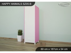 SZAFA HAPPY ANIMALS SZ05-B