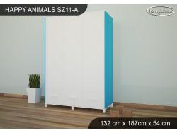 SZAFA HAPPY ANIMALS SZ11-A