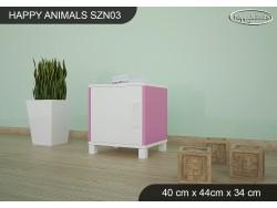 SZAFKA NISKA HAPPY ANIMALS SZN03