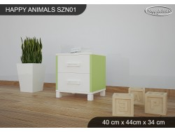 SZAFKA NISKA HAPPY ANIMALS SZN01