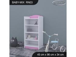 REGAŁ NISKI BABY MIX RN03
