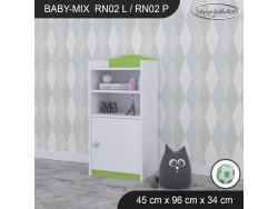 REGAŁ NISKI BABY MIX RN02