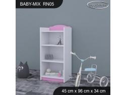 REGAŁ NISKI BABY MIX RN05
