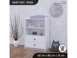 REGAŁ NISKI BABY MIX RN06