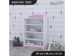 REGAŁ NISKI BABY MIX RN07