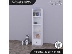REGAŁ WYSOKI BABY MIX RW01