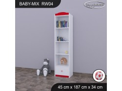 REGAŁ WYSOKI BABY MIX RW04