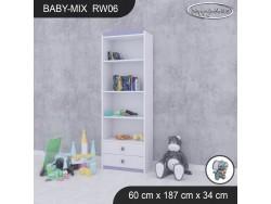 REGAŁ WYSOKI BABY MIX RW06