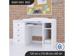 BIURKO BABY MIX B02 WHITE