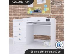 BIURKO BABY MIX B03 WHITE