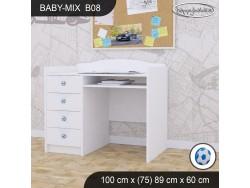 BIURKO BABY MIX B08 WHITE