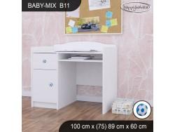 BIURKO BABY MIX B11 WHITE