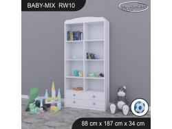 REGAŁ WYSOKI BABY MIX RW10 WHITE
