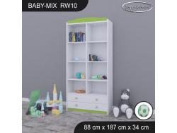 REGAŁ WYSOKI BABY MIX RW10