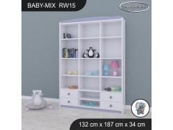 REGAŁ WYSOKI BABY MIX RW15