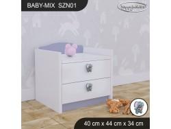 SZAFKA NISKA BABY MIX SZN01