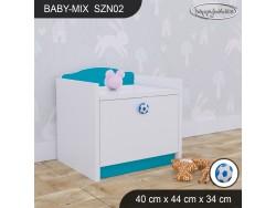 SZAFKA NISKA BABY MIX SZN02