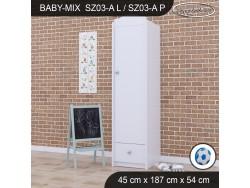 SZAFA BABY MIX SZ03-A WHITE
