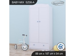 SZAFA BABY MIX SZ08-A WHITE