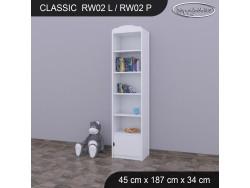 REGAŁ WYSOKI CLASSIC RW02