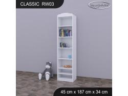 REGAŁ WYSOKI CLASSIC RW03