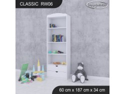 REGAŁ WYSOKI CLASSIC RW06