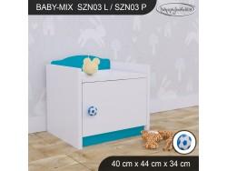 SZAFKA NISKA BABY MIX SZN03