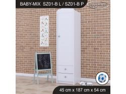 SZAFA BABY MIX SZ01-B WHITE