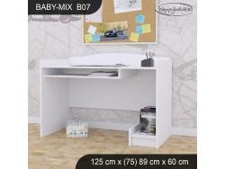BIURKO BABY MIX B07 WHITE