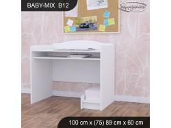 BIURKO BABY MIX B12 WHITE