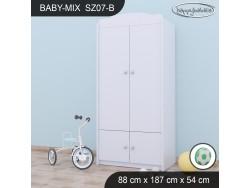 SZAFA BABY MIX SZ07-B WHITE