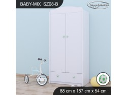 SZAFA BABY MIX SZ08-B WHITE