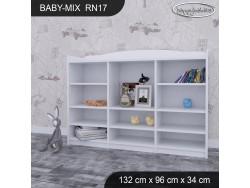 REGAŁ NISKI BABY MIX RN17 WHITE