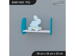 PÓŁKA BABY MIX P02