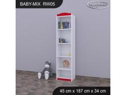 REGAŁ WYSOKI BABY MIX RW05