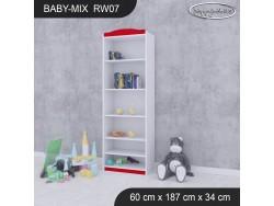 REGAŁ WYSOKI BABY MIX RW07