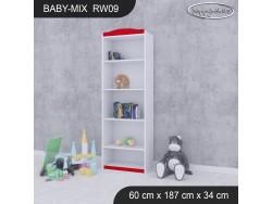 REGAŁ WYSOKI BABY MIX RW09